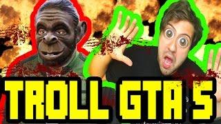 Gta 5 Online - Dünyanın En Feci Saçmalıkları - Ölümüne Troll Youtuberlar /w Rodinya /w GitaristV