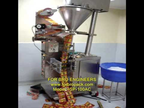 Automatic Spice Filling Machine