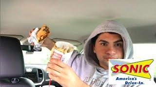 ME EATING SONIC MUKBANG - Video Youtube