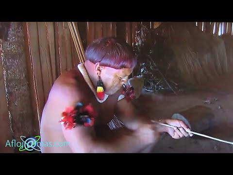 Naked Tribe Village from Amazon. Натуризм Индейцы с Амазонка.