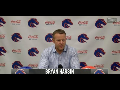 Bryan Harsin breaks down the Boise State QB situation for 2019