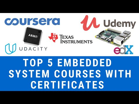 Top 5 Best Embedded Systems Courses | Certification | Free ...