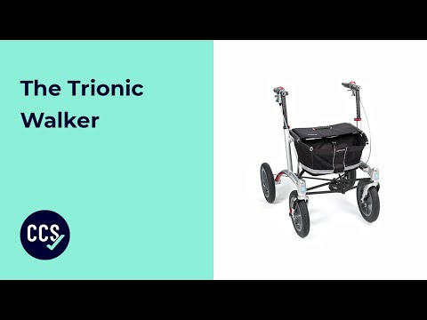 The Trionic Walker - A Premium Rollator