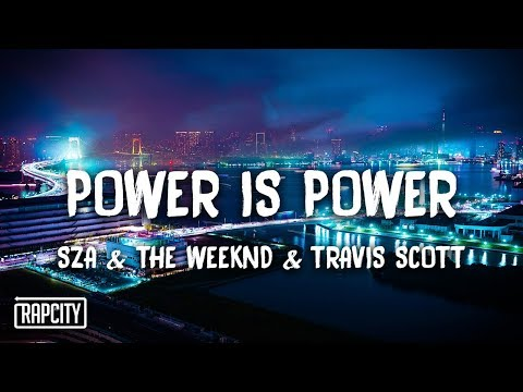SZA, The Weeknd, Travis Scott — Power Is Power (Lyrics) Game