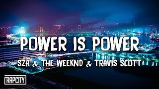 SZA, The Weeknd, Travis Scott   Power Is Power (Lyrics) Game Of Thrones