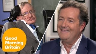 My interview with Professor Stephen Hawking on today's Good Morning Britain