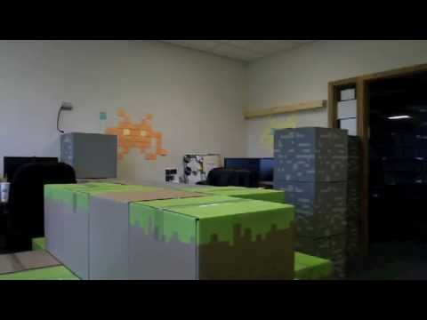 Let's Close Out April Fool's With This Unbeatable Minecraft Office Prank