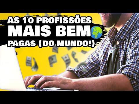As 10 PROFISSES MAIS BEM PAGAS no BRASIL (e NO MUNDO) para TRABALHAR ONLINE!