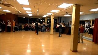 preview picture of video 'Viennese Waltz Performance at the Silver Screen Soiree Dance Party'