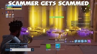 Best Scammer Gets Scammed (Fortnite Save The World)
