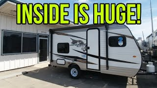 Incredibly small RV! Perfect for Small Pickups and SUVs! Jayco Jay Flight SLX 154BH