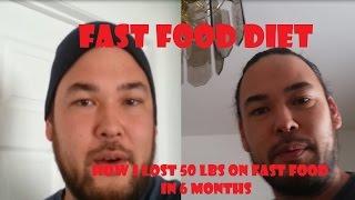 FAST FOOD DIET - HOW I LOST 50 LBS ON FAST FOOD