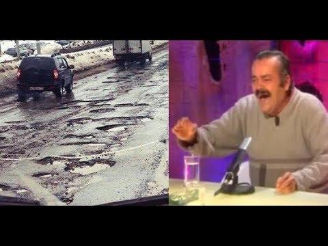 """Испанец читает лекцию на тему """"Виды дорог в России"""""""