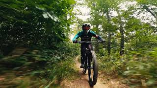Bike Chase 5 w/ FPV Race Drone ????