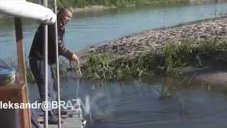 Особенности национальной рыбалки - Сплав по Дону на плотах 2014 Часть 1 из 2