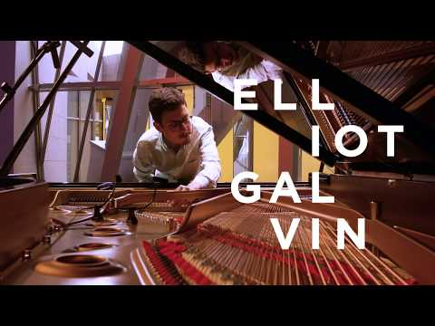 Elliot Galvin (solo piano) Live in Paris, At Louis Vuitton Foundation online metal music video by ELLIOT GALVIN