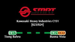 SMRT C151 [023/024]: Tiong Bahru → Buona Vista (» Joo Koon)