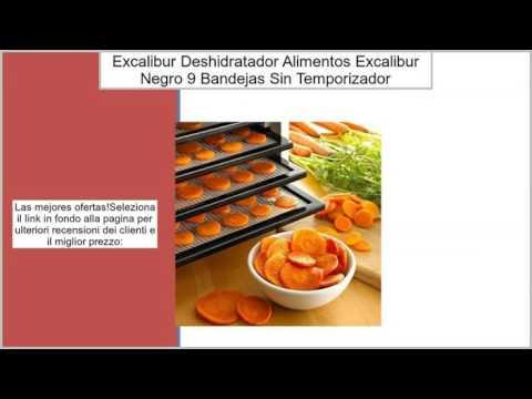 Excalibur–Deshidratador de alimentos Excalibur–negro–9Bandejas, sin temporizador