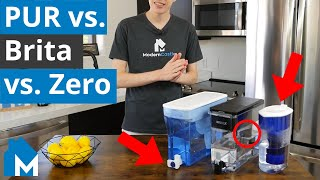 🥤 PUR vs. Brita vs. ZeroWater Filter Comparison — What's the Best Tasting Water?