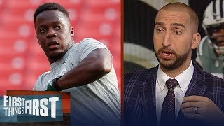 Cris and Nick react to the Jets trading Teddy Bridgewater   NFL   FIRST THINGS FIRST