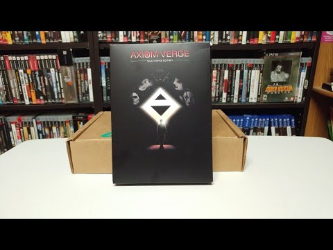 PS4 Axiom Verge Multiverse Edition Unboxing! (no commentary)