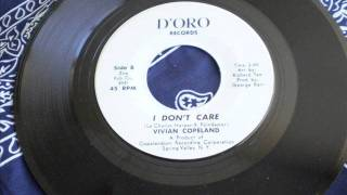 I Don't Care - Vivian Copeland