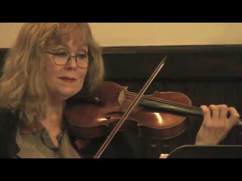 Stephanie plays Beethoven Sonata on violin