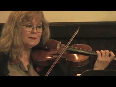 Stephanie plays Beethoven Sonata on violin