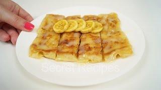 Тайские блинчики роти с бананом. Настоящие тайские блинчики с бананом | banana roti