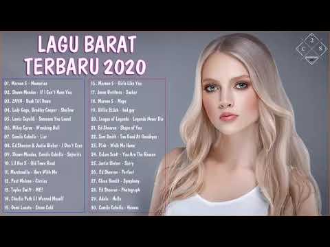 Lagu Barat Terbaru 2020 Terpopuler Di Indonesia  lagu barat terbaik 2020  Lagu pop terbaru 2019