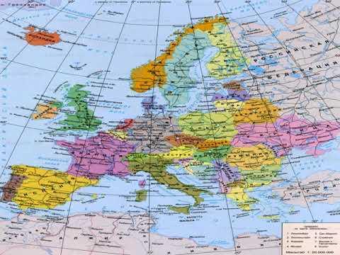 карта парижа с достопримечательностями на русском языке
