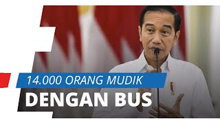 14.000 Orang dari Jabodetabek Mudik dalam 8 Hari, Jokowi: Mereka Terpaksa Pulang Kampung