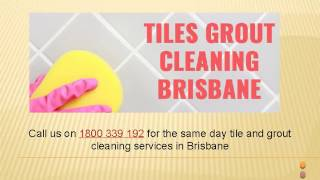 Same Day Tile and Grout Cleaning Service