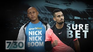Sportsbet paid Nick Kyrgios