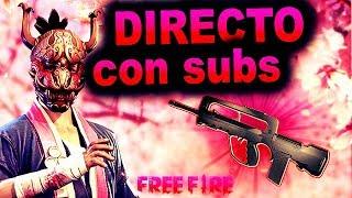 Free Fire Directo Jugando Con Subs Nueva Arma La Famas
