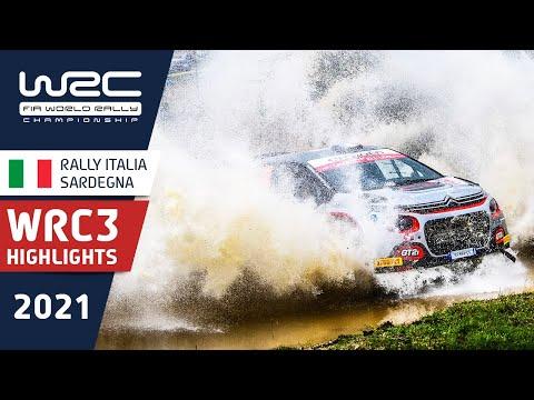 WRC3 2021 第5戦ラリー・イタリア Day3ハイライト動画