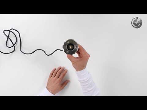 LED Bodeneinbaustrahler | Gartenbeleuchtung / Gartenstrahler | Außen | Warm Weiß | 1 Watt