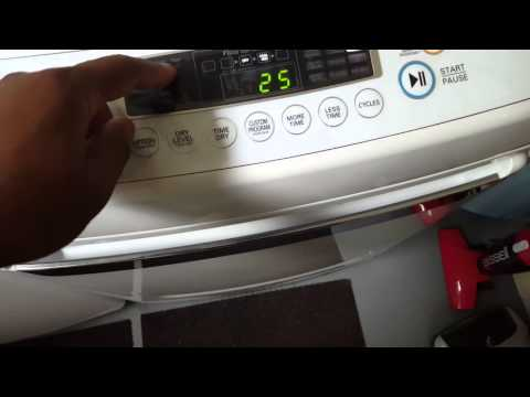 The review of this Lg dryer
