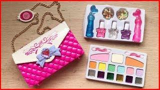 Đồ chơi trang điểm búp bê cho bé, có son phấn, sơn móng tay, túi xách... Makeup toys (Chim Xinh)