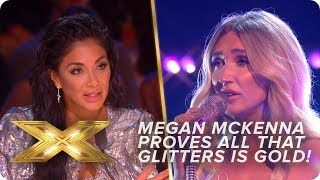 Megan McKenna Proves All That Glitters IS Gold! | Live Week 1 | X Factor: Celebrity