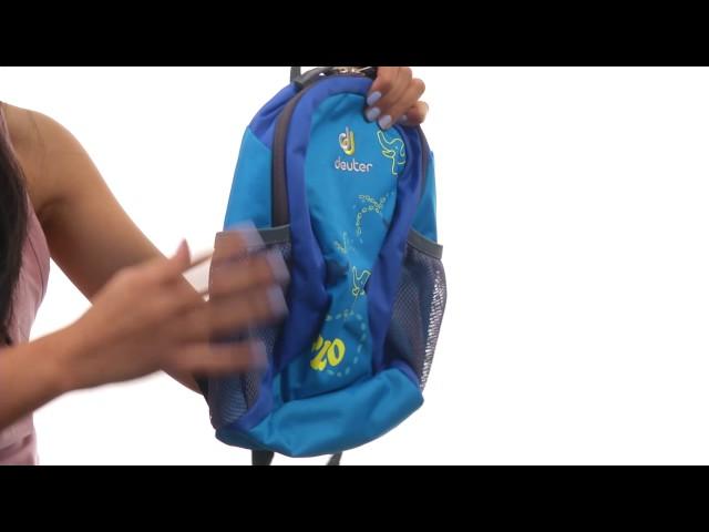 Видео Рюкзак детский Deuter Pico kiwi