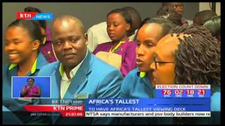 President Uhuru Kenyatta lays foundation stone for the tallest building in Africa