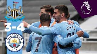 Newcastle 3-4 Manchester City Pekan 36