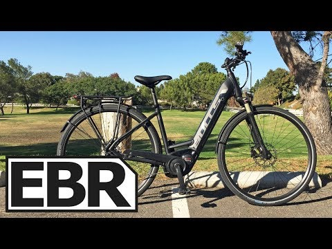 BULLS Cross Lite EVO Video Review – $4.4k Commuting Electric Bicycle, Many Sizes