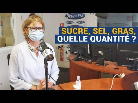 [AVS] Sucre, sel, gras, quelle quantité ? - Dr Laurence Plumey