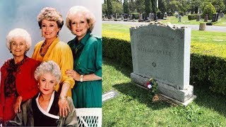 FAMOUS GRAVE TOUR: Visiting Golden Girl Estelle Getty At Hollywood Forever Cemetery