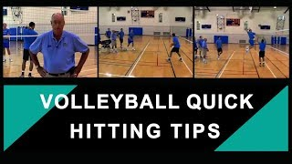 Volleyball – Quick Hitting Tips and Techniques – Coach Al Scates