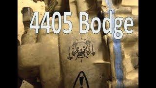 Bodging a Borg Warner 4405