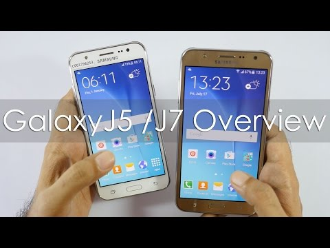 Samsung Galaxy J5 & Galaxy J7 Hands on Overview