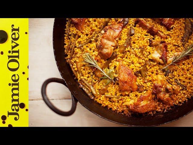 How To Make Spanish Paella Video Jamie Oliver